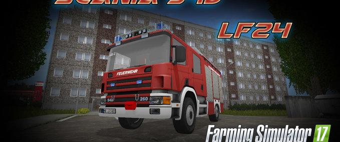 FS 17: Scania 94D LF24 v 1 0 Ostern Fire department Mod für