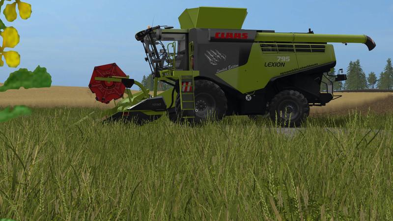 fs 17 claas lexion 795 monster edition v 1 0 lexion mod f r farming simulator 17. Black Bedroom Furniture Sets. Home Design Ideas