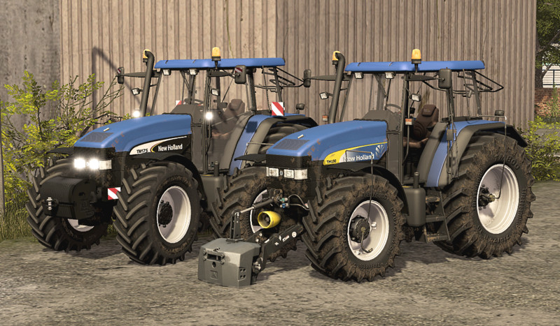 LS 17: New Holland TM 175/190 v 1.0 New Holland Mod für ...