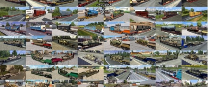 ETS 2: Addons for the Military &