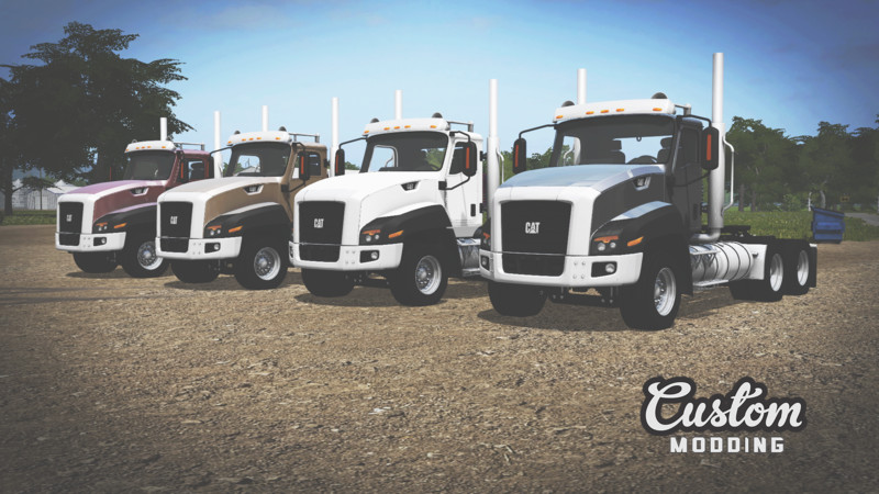 Fs 17 Caterpillar Ct660 V 1 1 0 Trucks Mod F 252 R Farming
