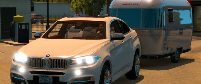 Bmw-x6m-with-trailer-1-6-x