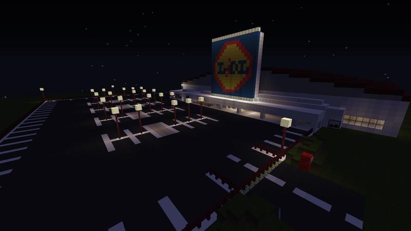 Minecraft LIDL Supermarkt V Maps Mod Für Minecraft Modhosterde - Geile maps fur minecraft downloaden