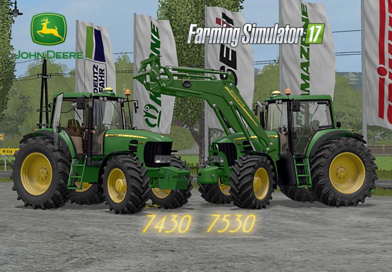 LS 17 John Deere 75307430 v 30 Final Full 7000er Mod fr