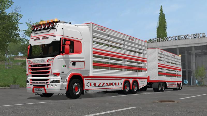 FS 17: Scania R730 animal transports v 2 2 Trucks Mod für Farming
