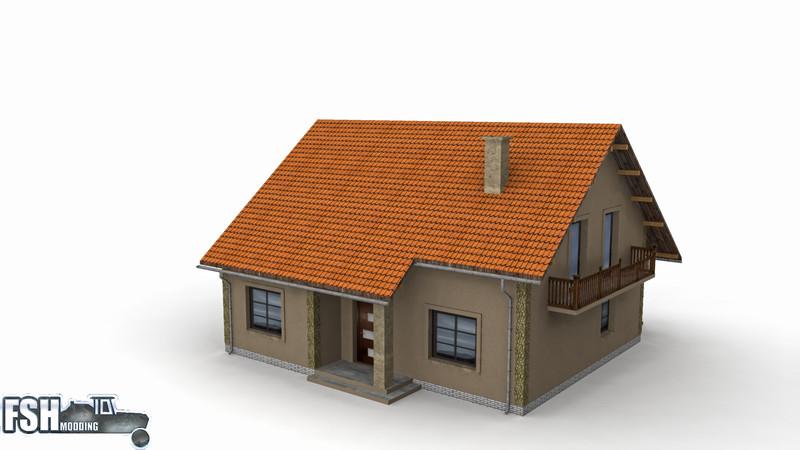 fs 17 modern house v1 v 1 objects mod f r farming simulator 17. Black Bedroom Furniture Sets. Home Design Ideas