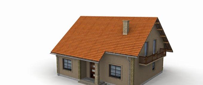 Fs 17 modern house v1 v 1 objects mod f r farming for Haus modern