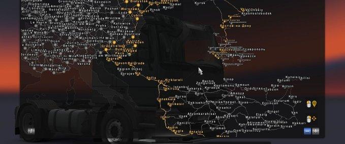Fahrverbindung-zwischen-der-eu-turkei-karte-und-der-southern-region-karte