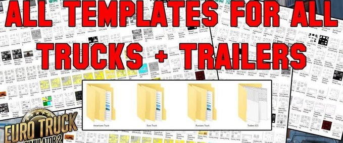 All-truck-trailer-templates-collection-pack-50-template