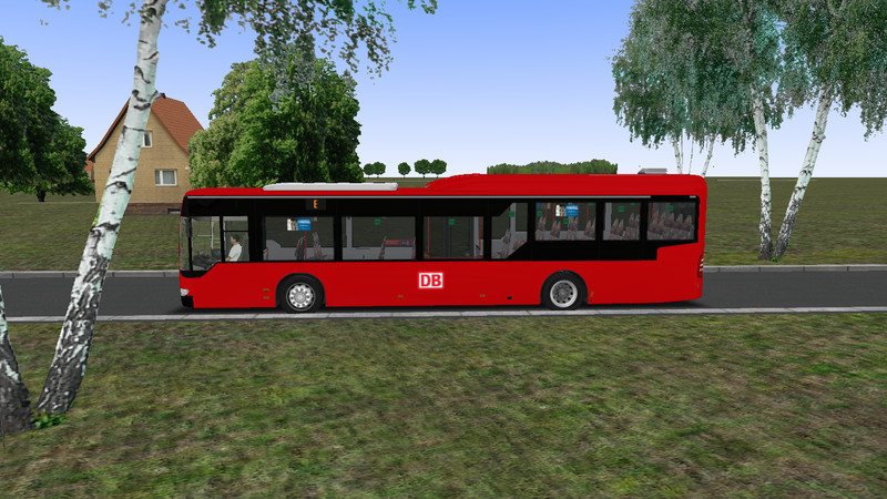 omsi: Mercedes-Benz O530 Citaro LE Ü German Railways v 1 Bus