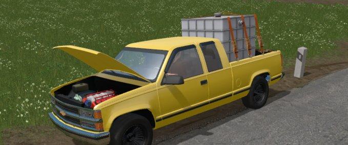 fs 17 chevrolet silverado c1500 v 1 0 cars mod f r farming simulator 17. Black Bedroom Furniture Sets. Home Design Ideas