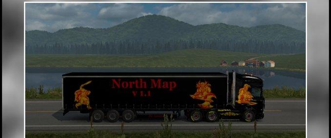 North-map