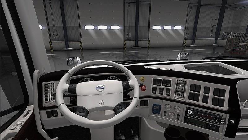 ets 2: Interieur für Volvo VNL 670 v 1.0 Interieurs Mod für ...