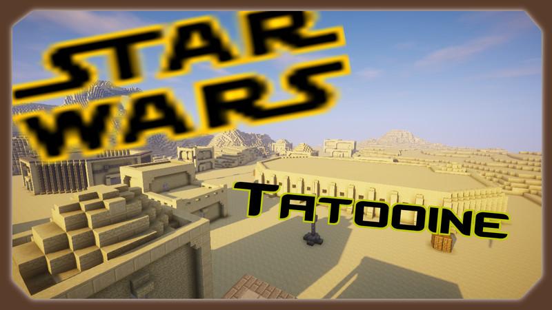 Minecraft Minecraft Tatooine V Maps Mod Für Minecraft - Minecraft 3 kleine hauser