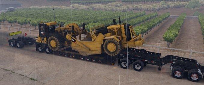 Long-oversized-trailer-magnitude-55l-with-a-load-scraper