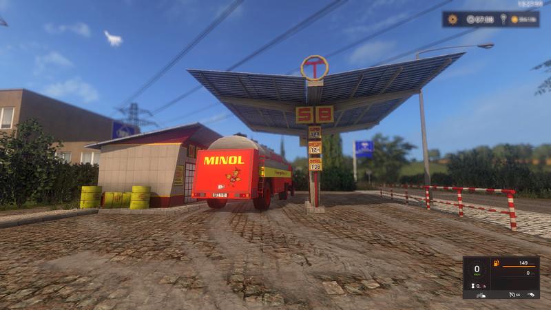 Ls 17 Ddr Minol Tankstelle V 1 0 0 Geb 228 Ude Mod F 252 R Landwirtschafts Simulator 17