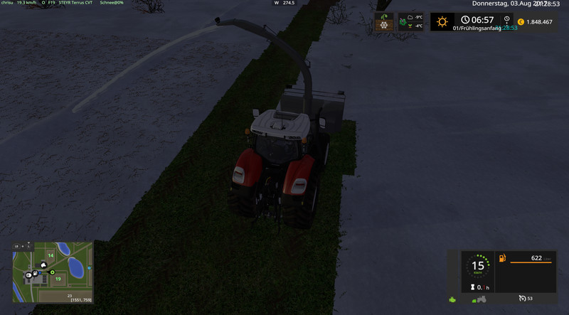 FS 17: silage cutter v 3 1 Other Implements Mod für Farming