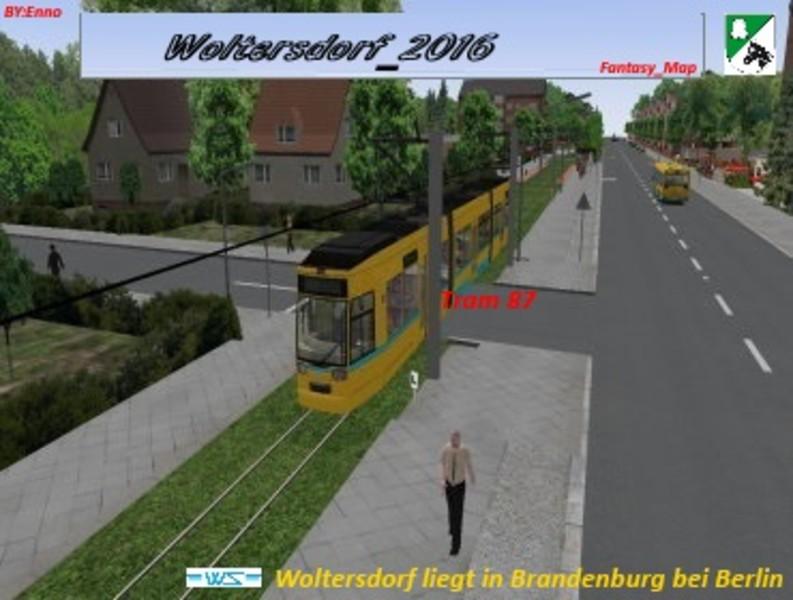 omsi: Projekt_Woltersdorf_2016 v 1 0 Fictional Maps Mod für