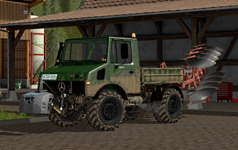 Farming Simulator  Mods Mercedes Mb Trac