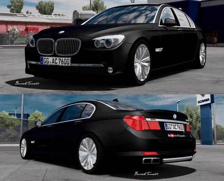 Ets 2 BMW M760Li V12 Interieur 128x V 10 Sonstige Mod Fur