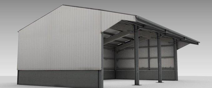 Hangar-metalique