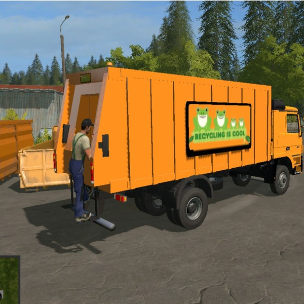 Ls17 Müllwagen