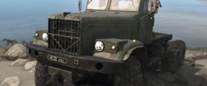 Original-model-kraz-255-truck-spintires-mudrunner