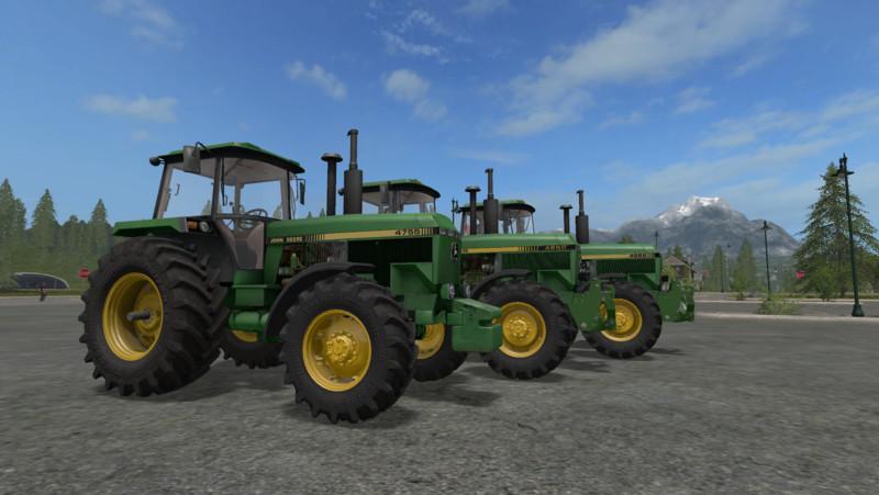 FS 17: John Deere 4850/4955 v 4 0 0 1 2000-5000er Mod für Farming