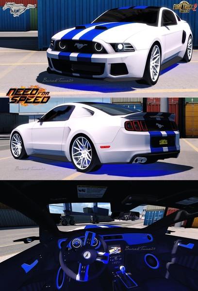 Ets 2 Ford Mustang Nfs Interior V1 0 By Buraktuna24 1 30 X V