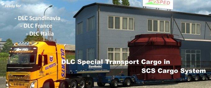 ETS 2: SCS DLC Special Transport Cargo in SCS Cargo System v