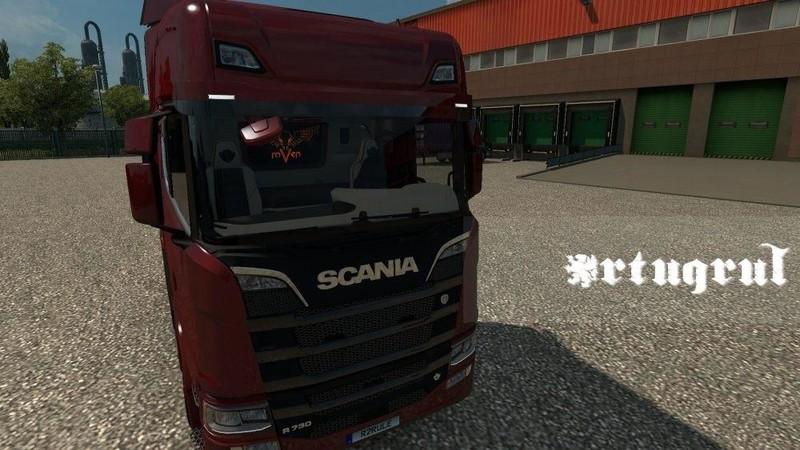 ets 2: Interieur für Scania 2016 S & R [1.30.x] v 2.0 Interieurs ...