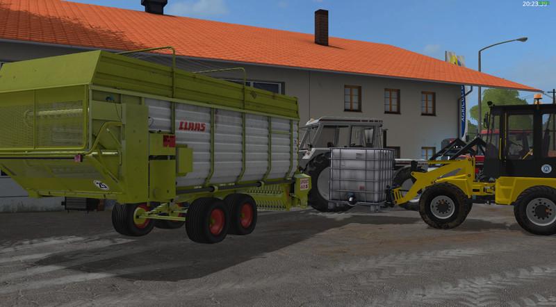 FS 17: Claas Sprint 445S v 1 Textures Mod für Farming