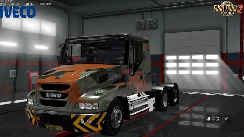 ets 2: Iveco Strator + Interieur von Cp_MorTifIcaTioN (1.30.x) v 4.1 ...