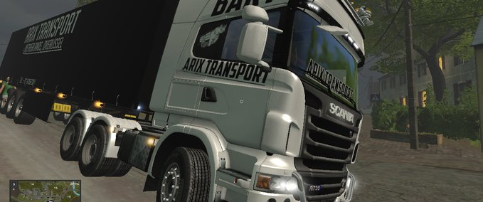 Scania-arix-transport-trailer-pack