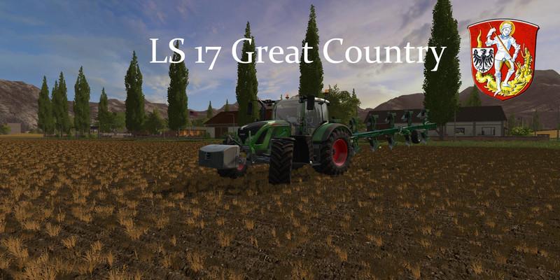 FS 17: Great Country v 1 12 Maps Mod für Farming Simulator 17
