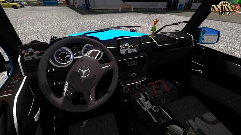 ets 2: Mercedes-Benz AMG Brabus G65 + Interieur(1.30.x) v 1.0 ...