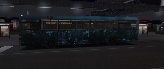 omsi: MB O405 Midnight City repaint v E1 Bus Skins Mod für OMSI 2