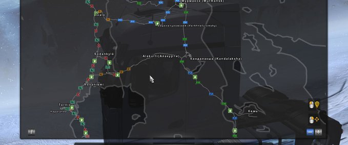 ETS 2: ADDITION OF SETTLEMENT ALAKURTTI TO RUSMAP AND PROMODS [1 30