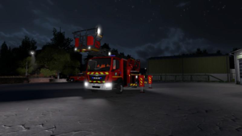LS 17: Man TGM EPSA Metz v 1 Feuerwehr Mod für