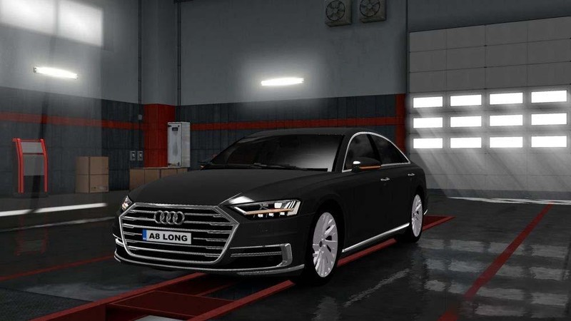 ets 2: Audi A8 Long + Interieur fix [1.30.x] v update + fix Sonstige ...