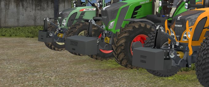 Fendt-weights-pack