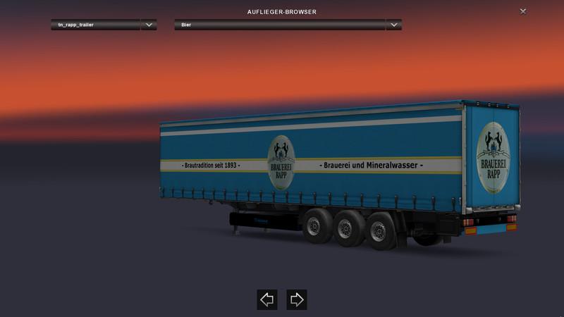 ets 2: RAPP Getränke Combo v 1.0 Mods Mod für Eurotruck Simulator 2