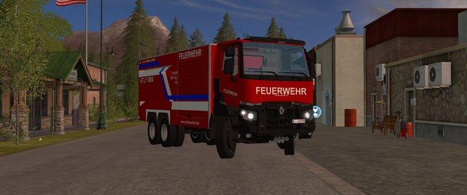 FS 17: Renault K GTLF v 1 Fire department Mod für Farming