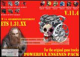 Pack-powerful-engines-gearboxes-v-11-4-for-1-31-xx