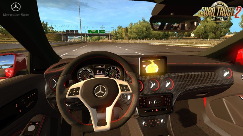 ets 2: Mercedes Benz A45 + Interieur v1.0 (1.31.x) v 1.0 Mercedes ...