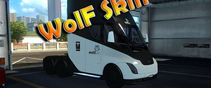Tesla-wolf-skin