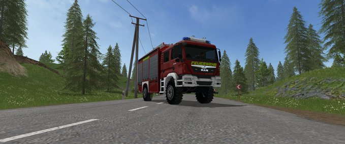 FS 17: MAN TGM 13 290 HLF10 v 1 0 Fire department Mod für