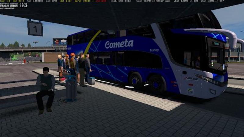 ETS 2: Bus Stations [1 31 x] v 1 1 (09 06 18) Other Mod für