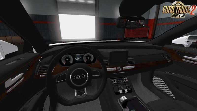 ets 2: Audi A7 Sportback 2018 + Interieur (1.31.x) v 1.0 Sonstige ...