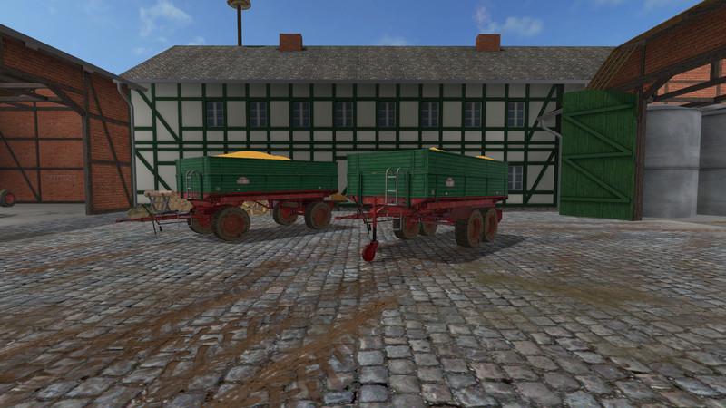 FS 17: Bruns v 0 9 9 fifth wheel Mod für Farming Simulator 17